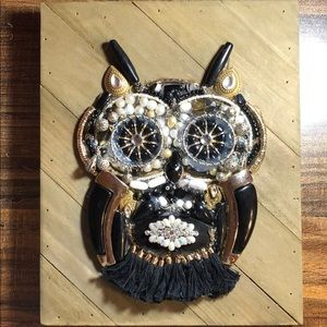 Owl - Black and Gold